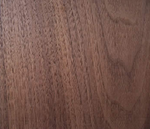 wavy grained black walnut lumber